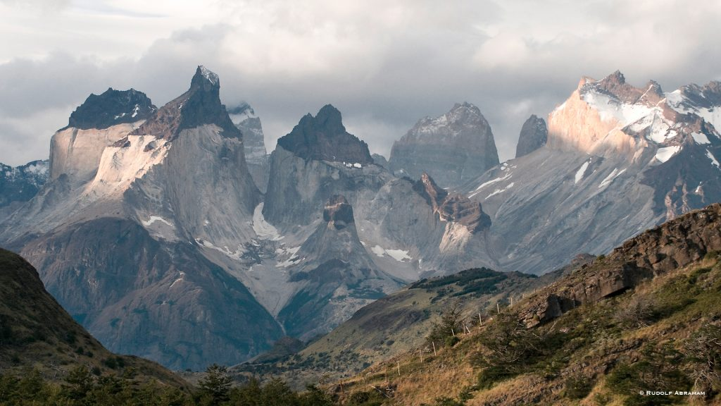 Hiking in Torres del Paine Patagonia Chile