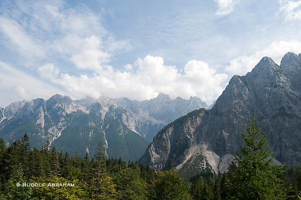 Slovenia hiking Alpe Adria Trail